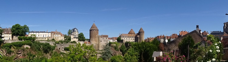 Mise en valeur de la ville de Semur en Auxois
